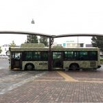 JR越谷レイクタウン駅前から、イオン レイクタウン moriの前まで運行している無料のシャトルバスの時刻表を見て、実際に乗ってみた!