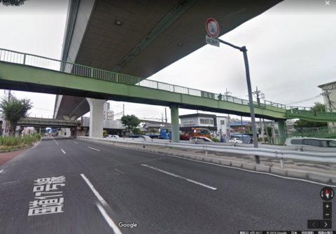 国道17号 西浦和駅付近