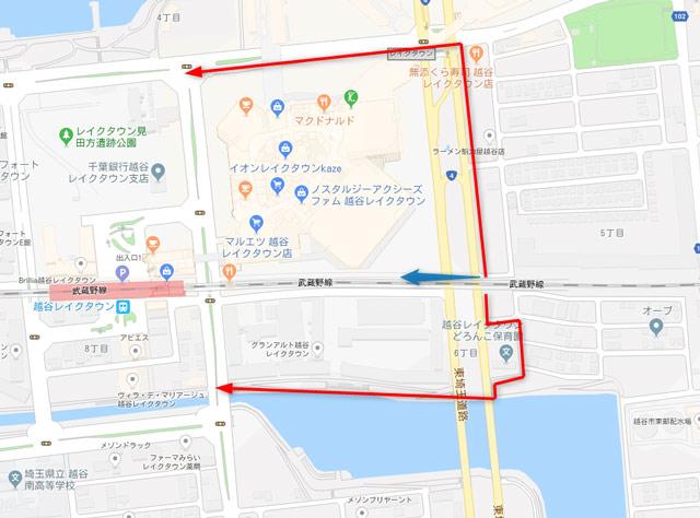 東埼玉道路横断ルート