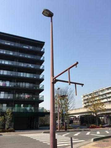 信号機の支柱