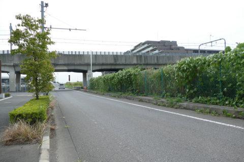 国道4号 横断歩道